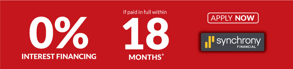 18 Month Special Financing