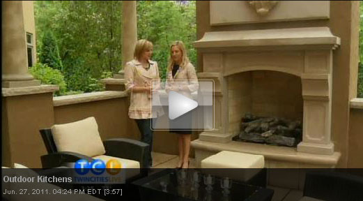 Twin Cities Live - Outdoor Kitchen Tours