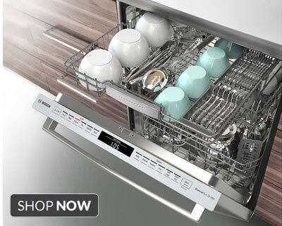 Shop Bosch Dishwashers with new MyWay Rack