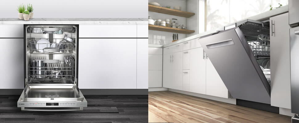 Introducing the all new collection of Bosch Dishwashers at Warners' Stellian