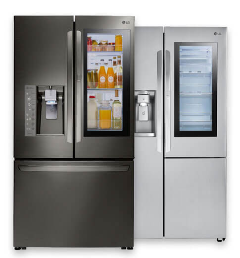 Shop InstaView™ Door In Door® Refrigerators, LG REFRIGERATORS: