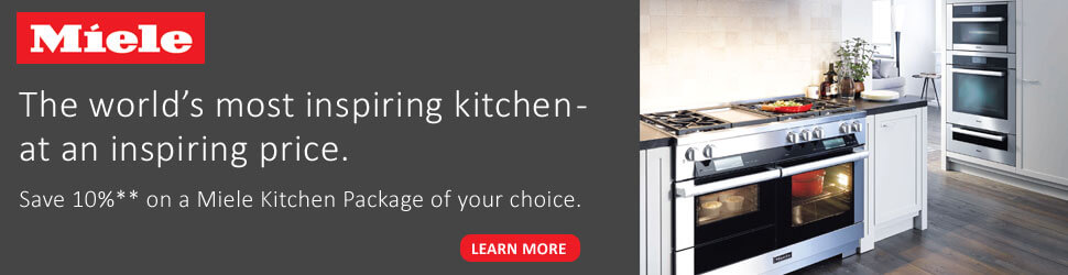 Miele 10% Off Kitchen Package Offer