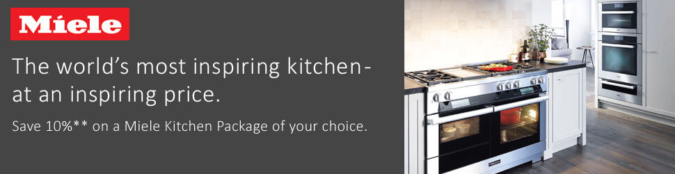 Miele 10% Off Kitchen Package Rebate - Warners' Stellian