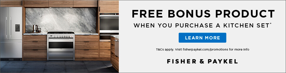 Fisher & Paykel Free Bonus Product Offer