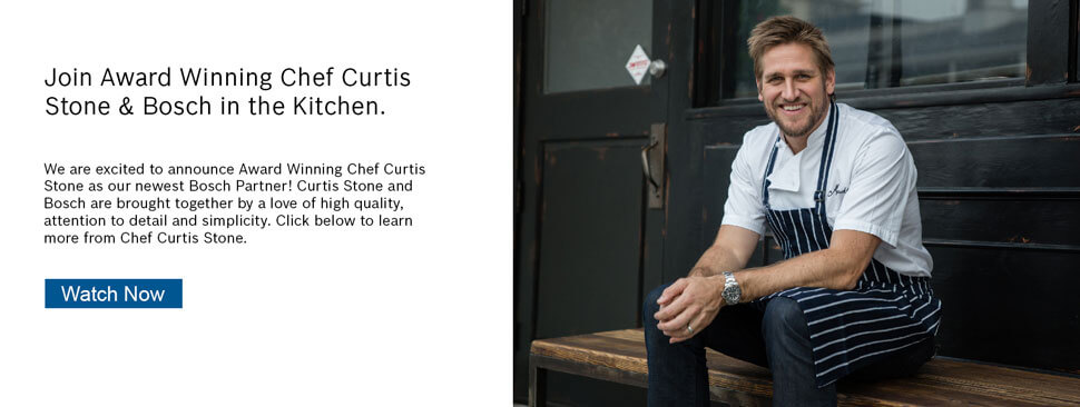 Bosch Partners with Award-Winning Chef Curtis Stone - Watch Video