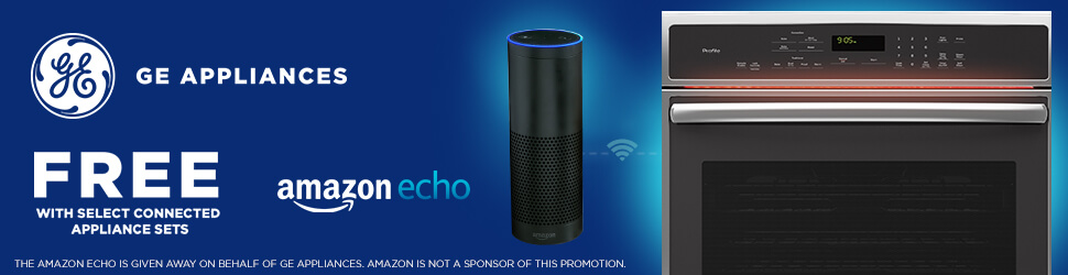 Receive a Free Amazon Echo with Qualifying GE Profile Appliance Purchase