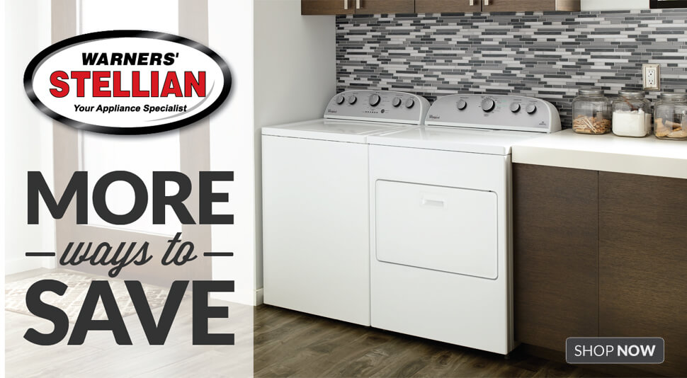More Ways to Save - Appliance Sale - Shop Now