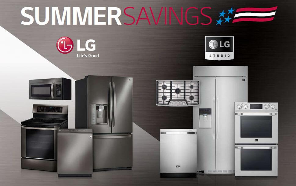 LG Summer Savings Offer