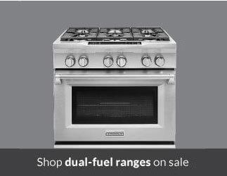 Shop Dual Fuel Ranges
