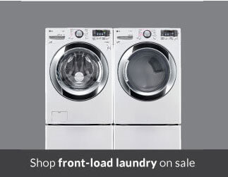 Shop front load laundry on sale