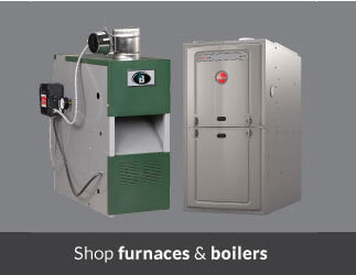 Shop furnaces and boilers on sale
