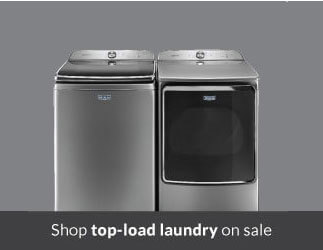 Shop top load laundry on sale