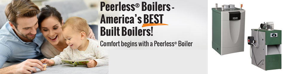 Peerless Boilers Brand Banner