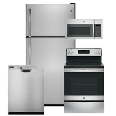 Kitchen Appliance Packages, 4-Piece Appliance Sets | Warners ...