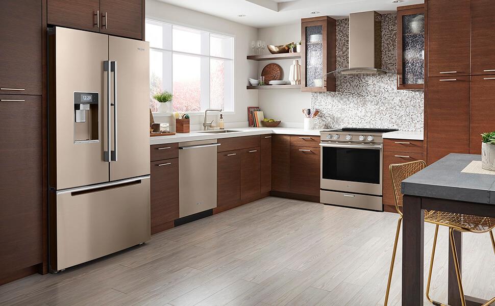 New Kitchen Appliance Finishes