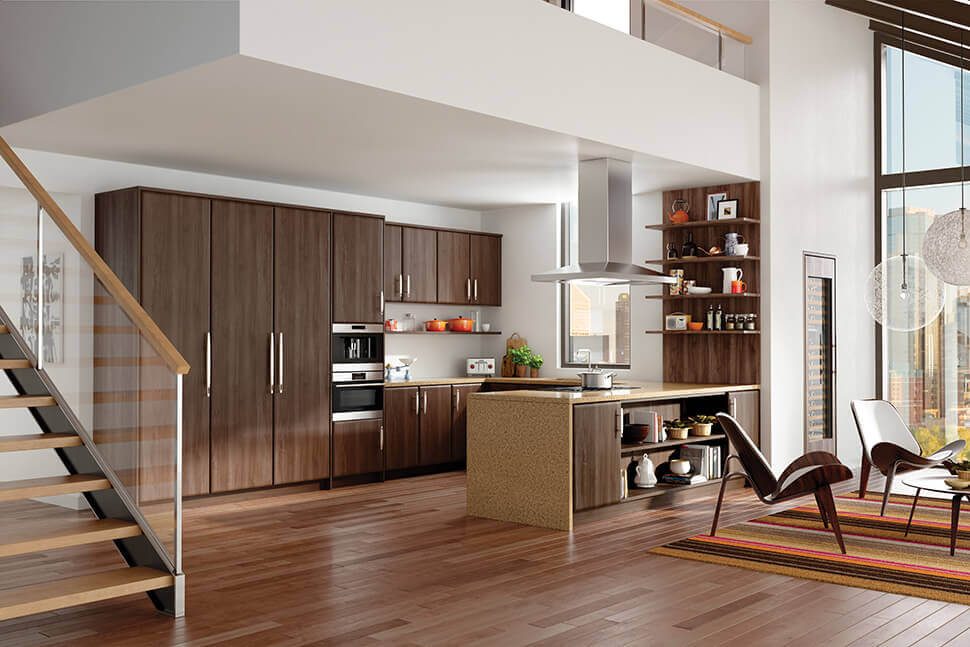 Paneled Sub-Zero appliances