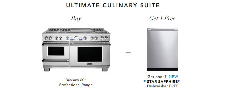 Thermador Ultimate Gift With Purchase - Culinary Offer