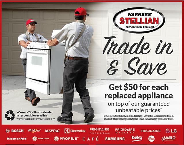 Trade In & Save Sale - Get Rebate