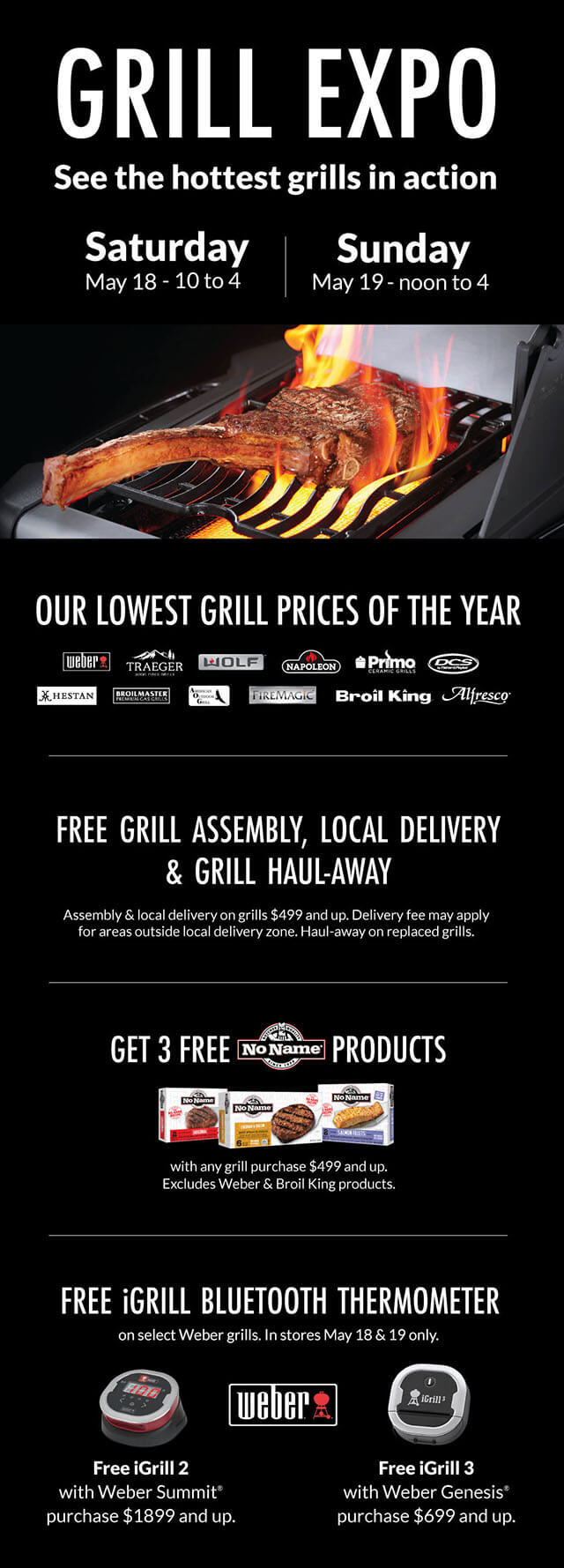 Grill Expo | May 18-19 Only