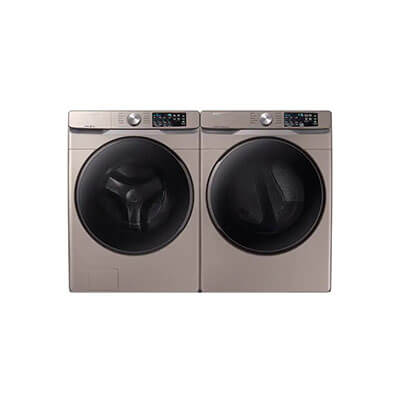 Samsung Laundry Pairs WF45R6100AC, DVE45R6100C For Sale At Warners' Stellian