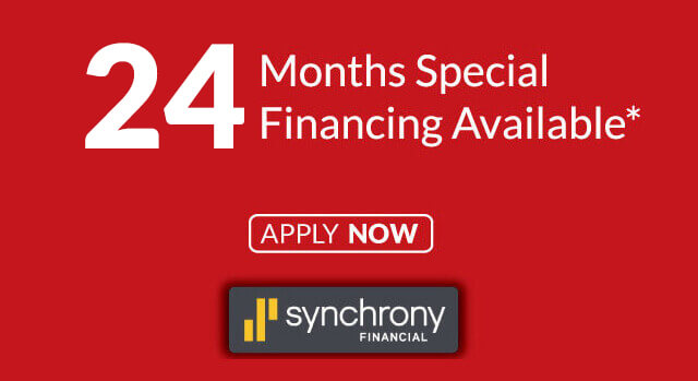 Special 24 Month Financing Available